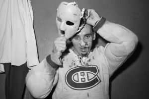 Jacques Plante had one of the best goalie masks