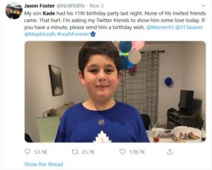 The response to this Tweet shows why hockey is great