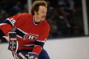Larry Robinson had an outstanding hockey player mustache
