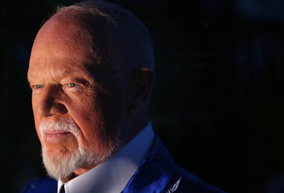 Don Cherry's definition of the hockey family was controversial