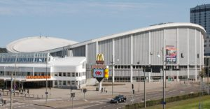 The Scandinavium is a great destination for a traveling hockey fan