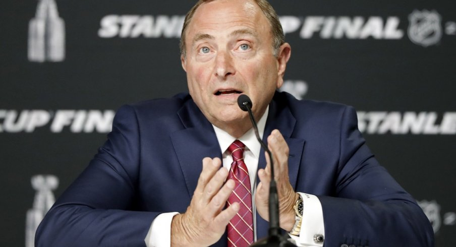 Gary Bettman recently outlined the NHL's plan to return to play
