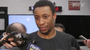 Wayne Simmonds knows from experience that there is a problem with racism in hockey