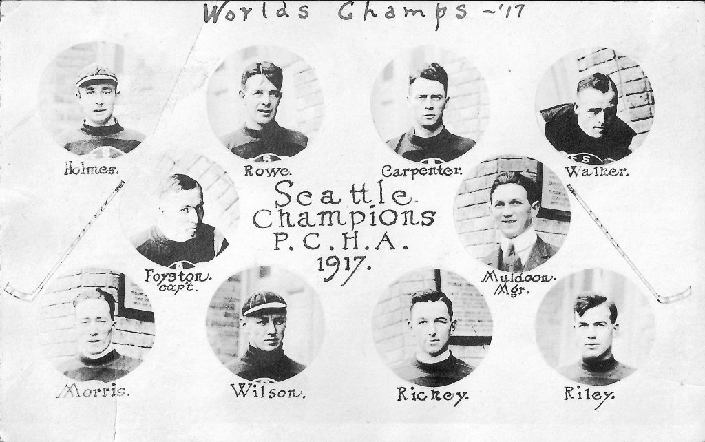 Seattle hockey history goes back more than a century