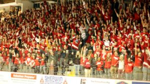 Cornell fans make Lynah one of the best college hockey rinks