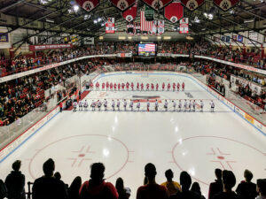 Matthews Arena is clearly one of the best college hockey rinks