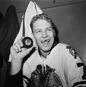 Bobby Hull was the father in a famous hockey father and son combo