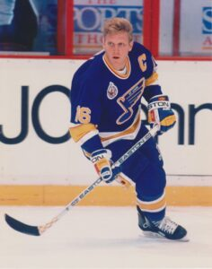 Brett Hull was the second generation of a legendary hockey father and son combo