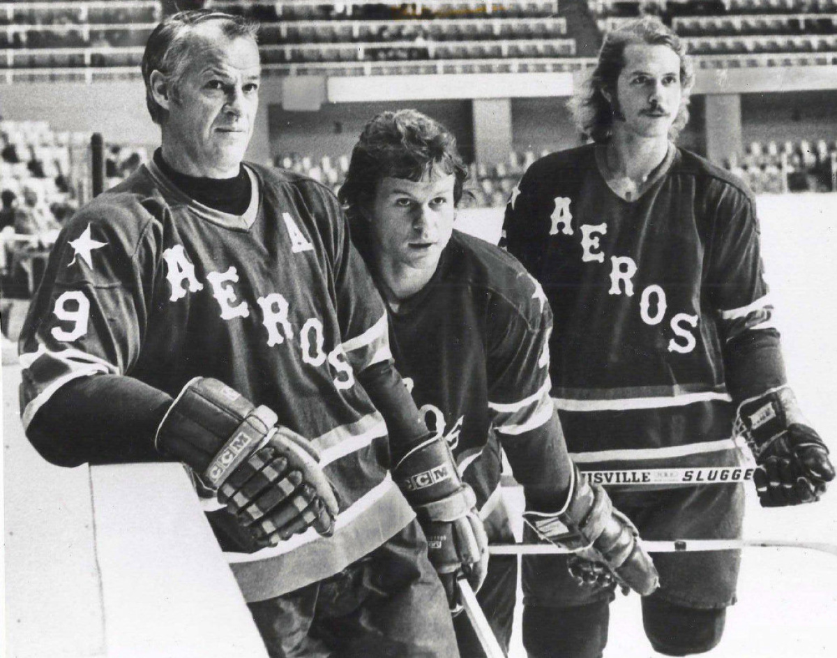 The Howes were one of the best hockey father and son combos of all time