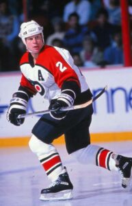 Mark Howe was part of a unique hockey father and son combo